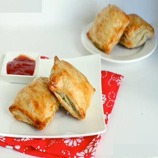 Vegetable curry puffs